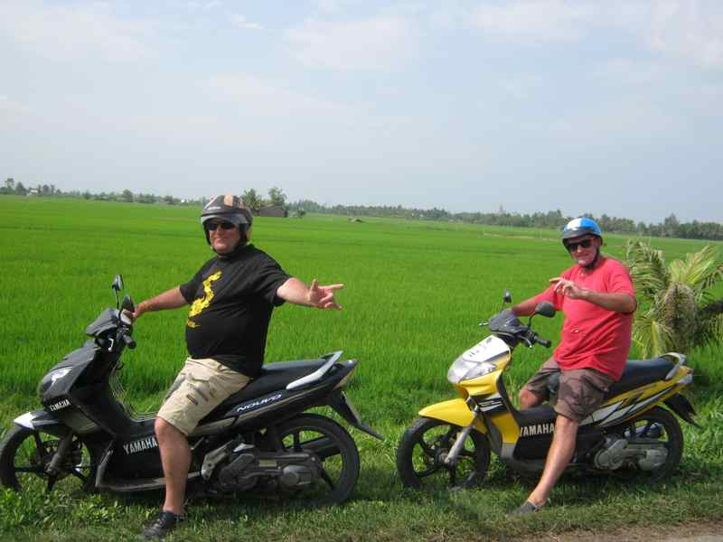 Mekong - Ho Chi Minh trails - motorbike tours