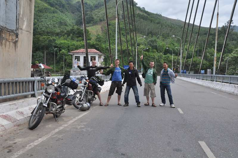 Central - Ho Chi Minh on trails with motorbike