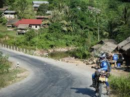 hongsa motorbike tour