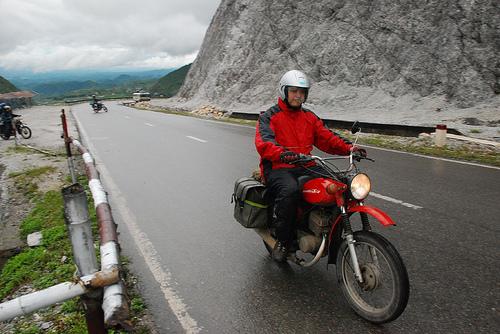 mai-chau - Hochiminh trails with motorbike