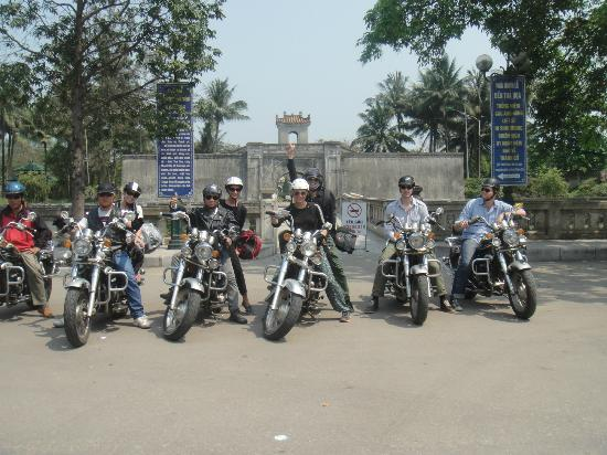 hue - Ho Chi Minh on trails with motorbike