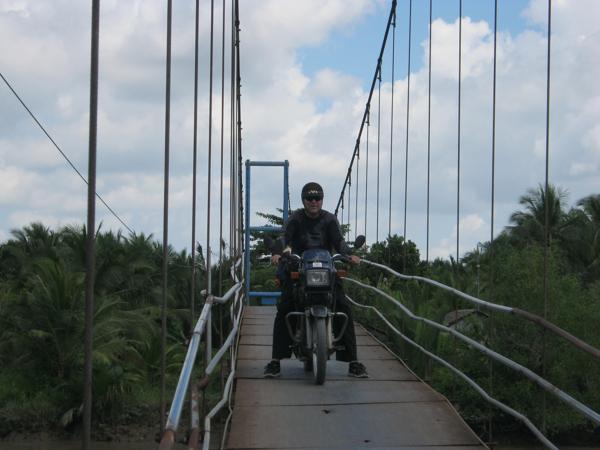 Motorbike Tour in Mekong 3