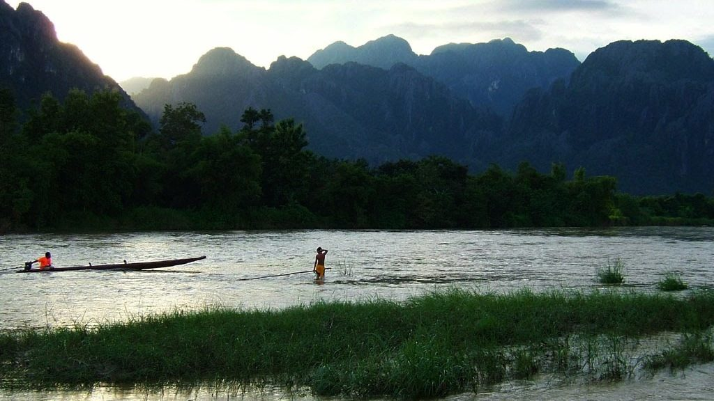 Laos Golden Tarmac Motorbike Tour to Vang Vieng