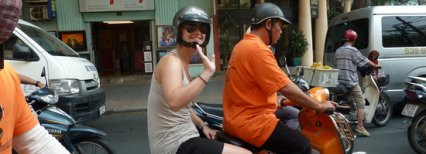 Experience Old Saigon On Vespa