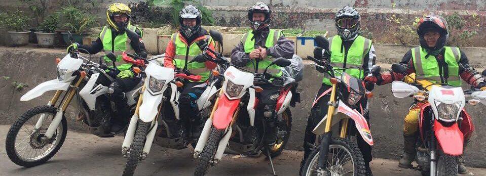 Hanoi motorbike tour to maichau