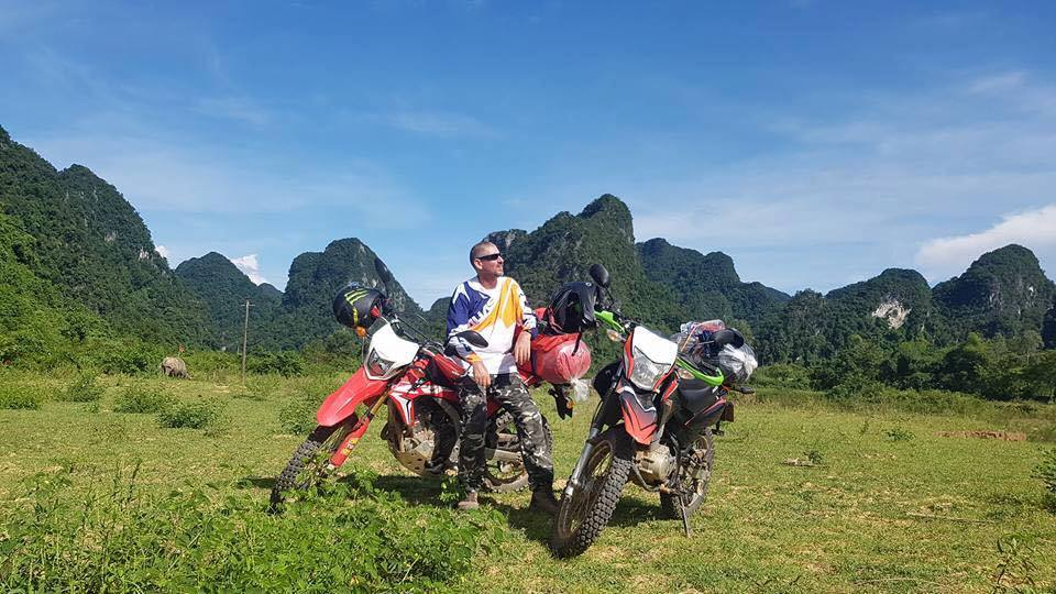 Vietnam motorbike tour on Ho Chi Minh trails along Coastal