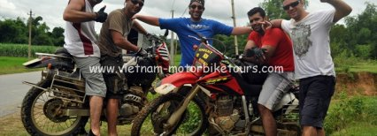 North-east Vietnam motorbike tour and Halong Bay
