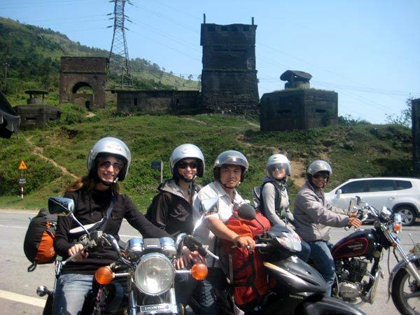 Hue motorbike to Hoian