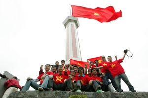 Lung Cu Flag Tower in Hagiang