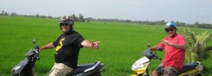 Unprecedented Mekong Delta Motorbike Tour in Full
