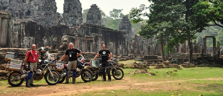 Cambodia Dirt Bike Tours from Angkor to the Coast