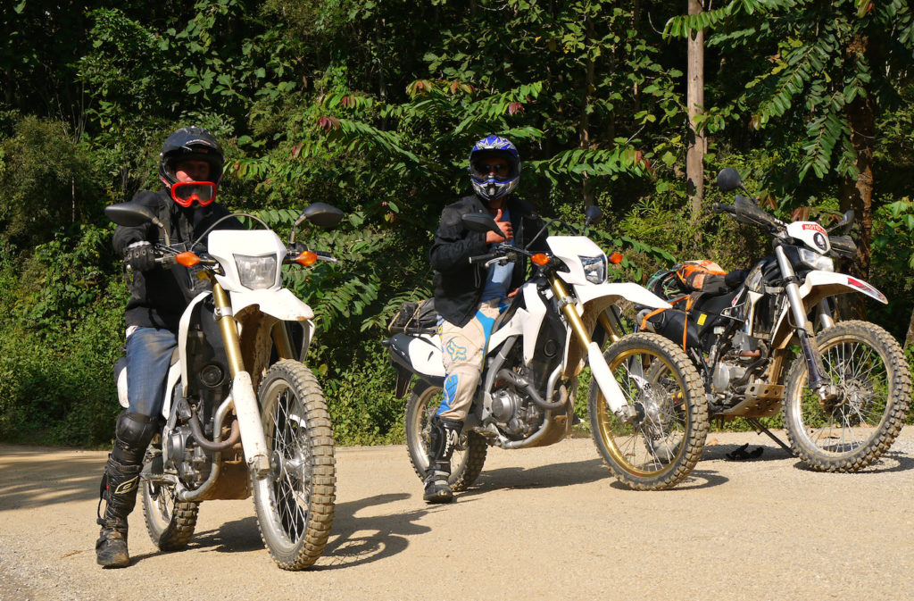 Laos Offroad Motorbike Tour in North Laos