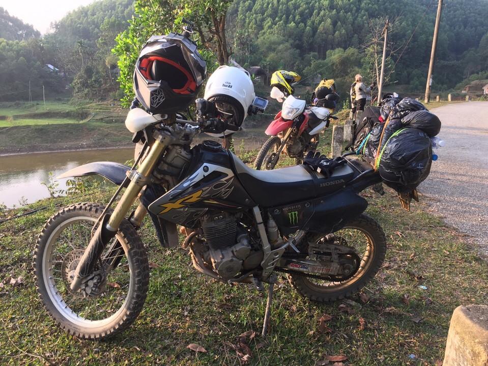 Motorbike tour to Babe lake