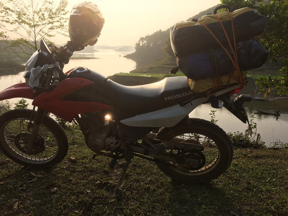 Exciting Northern Vietnam motorbike tour to Thac Ba