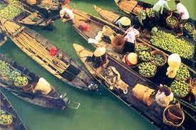 Cai Rang Floating Market Can Tho - CAI RANG FLOATING MARKET