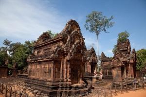 Angkor Banteay Srei Temple