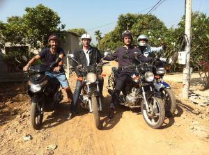 Hoi An motorbike tour to Saigon