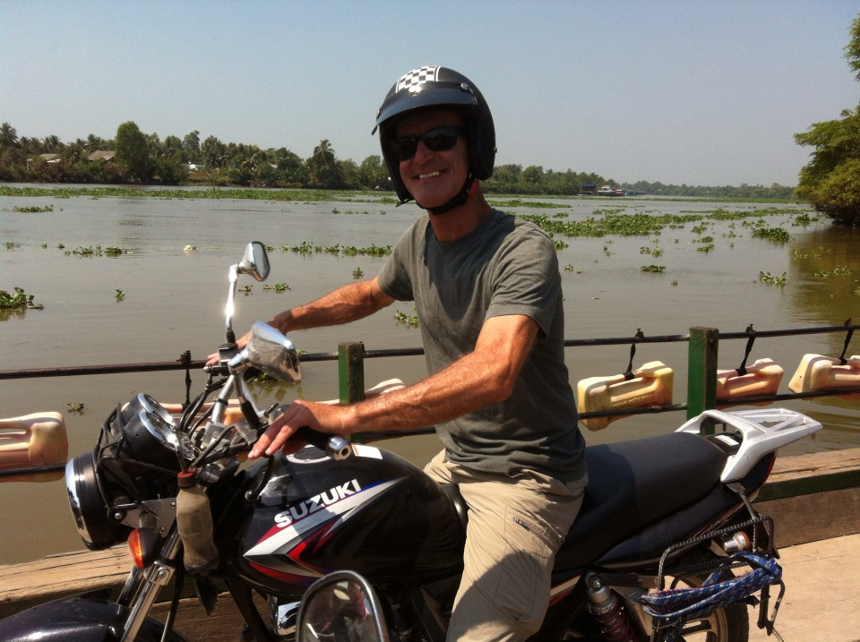Vietnam motorcycle trip from Saigon to Can Tho via Mekong Delta