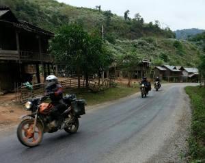 Kontum motorcycle tours to Quang Ngai