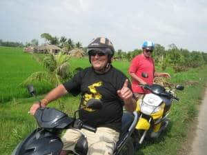 Saigon motorbike tours to Dong Xoai