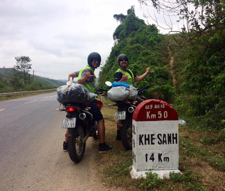 Vietnam Central motorcycle tour from Hoi An to Hue