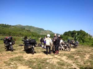 Hanoi motorbike tours to Thac Bac