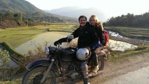 Hoa Binh motorbike tours to Hanoi