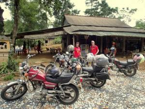 Pleiku motorcycle tours to Kon Tum