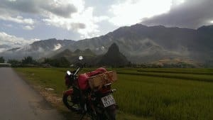 Norther Vietnam motorbike tour from Hanoi to Phu Yen Son La