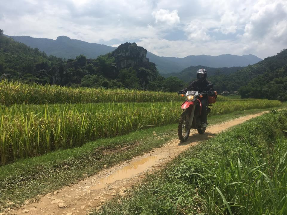 Vietnam Offroad Motorbike Tour to Ba Be Lake