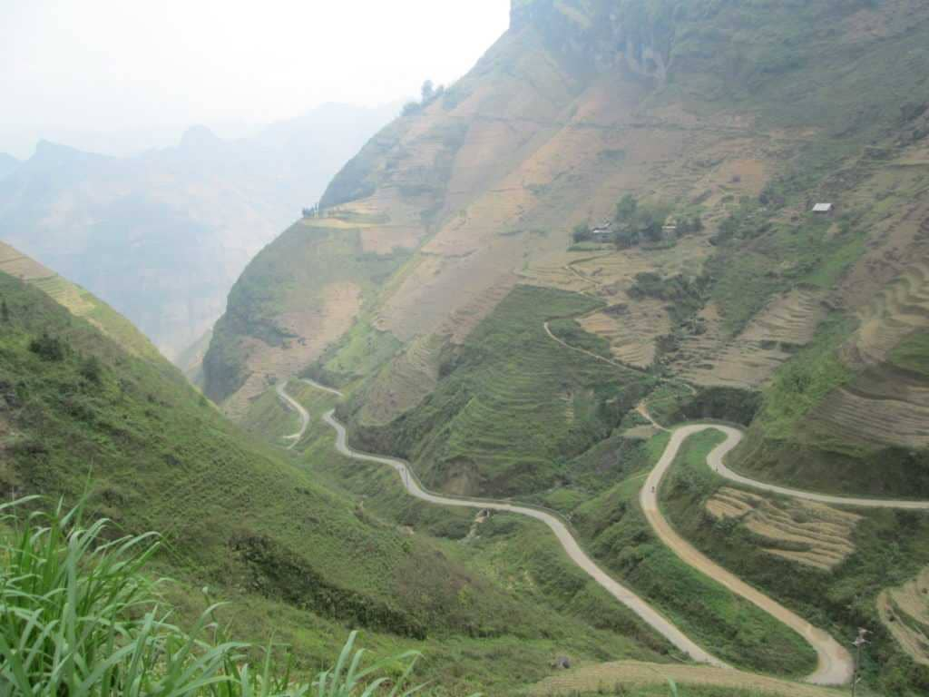 Epic roads in Northern Vietnam.
