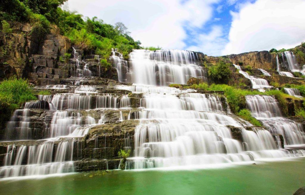 Pongour Waterfall in Dalat Viet Nam - Vietnam Motorbike Tour On Ho Chi Minh Trail