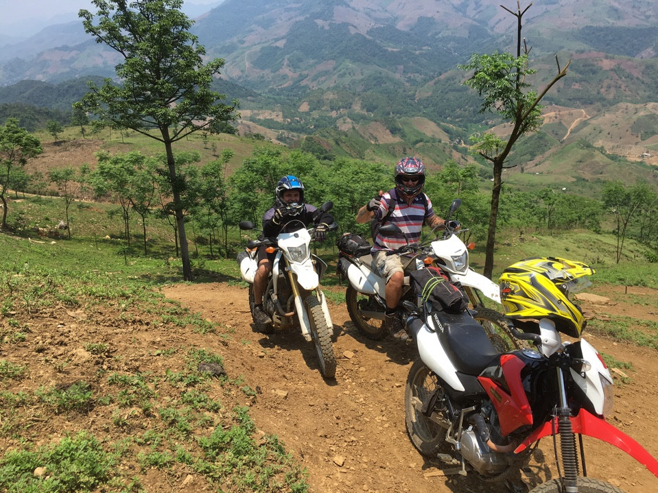 Mighty Northwest Vietnam Offroad Motorbike Tour via Mai Chau, Sapa – 7 Days