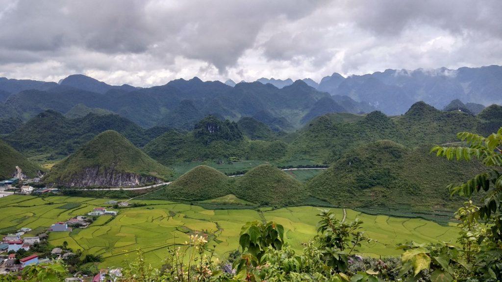 Quan Ba Twin Mountains 1024x576 - Northeast to Northwest Vietnam Offroad Motorbike Tour